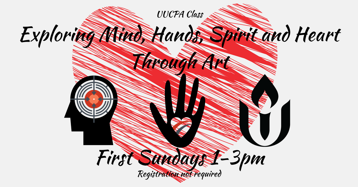 Exploring Mind, Hands, Spirit and Heart Through Art- November 4th Session Canceled