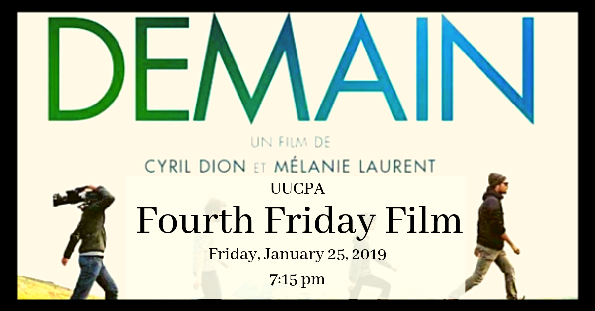 Green Sanctuary Fourth Friday Film - Demain