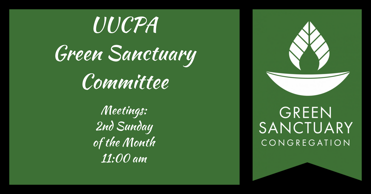 Green Sanctuary Committee Meeting