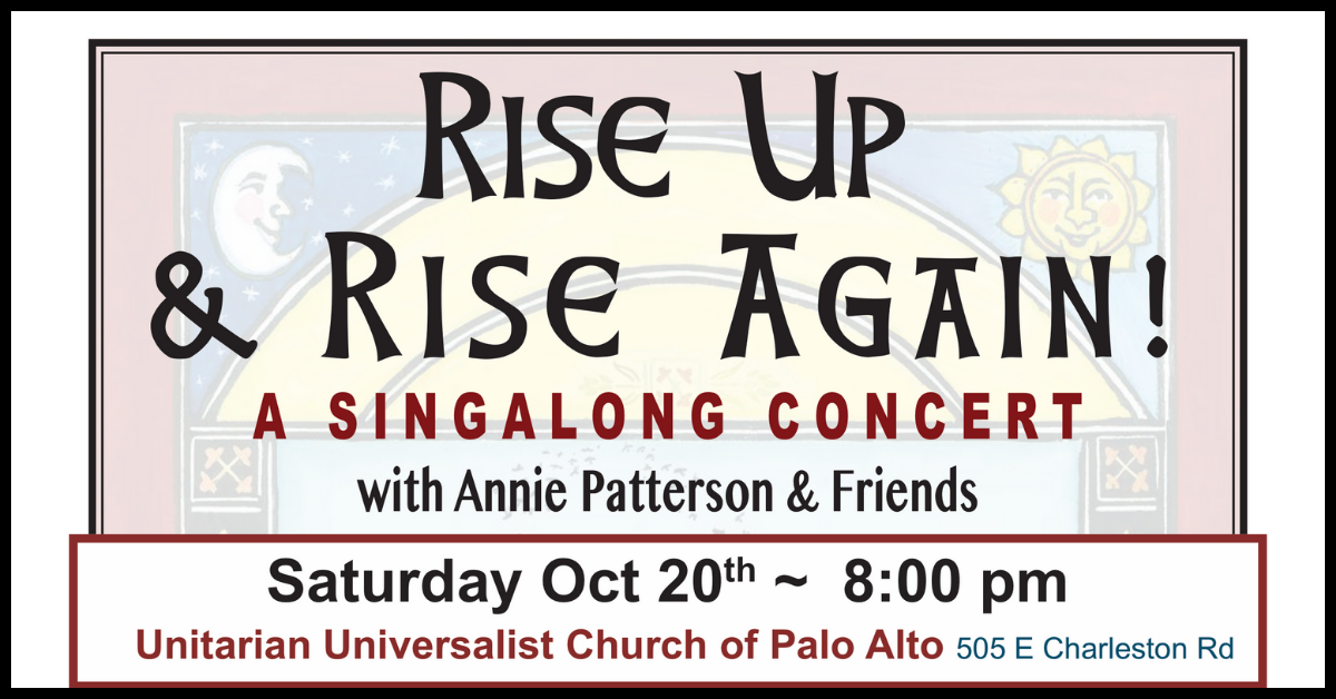Sing Along Concert with Annie Patterson