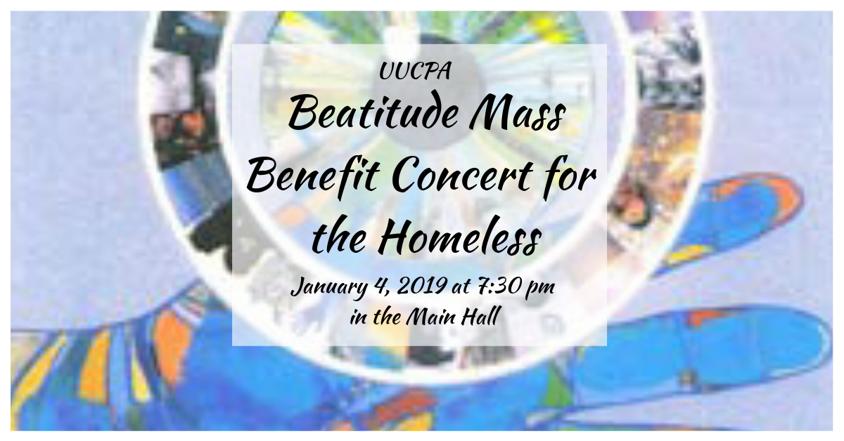 Beatitude Mass Benefit Concert for the Homeless