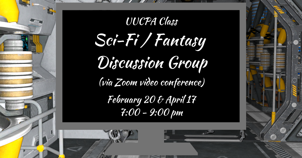 Sci-Fi / Fantasy Discussion Group (via Zoom)