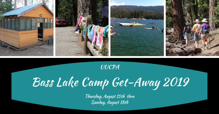 Cabins Still Available for Bass Lake Weekend (Aug 15-18) - Register now!