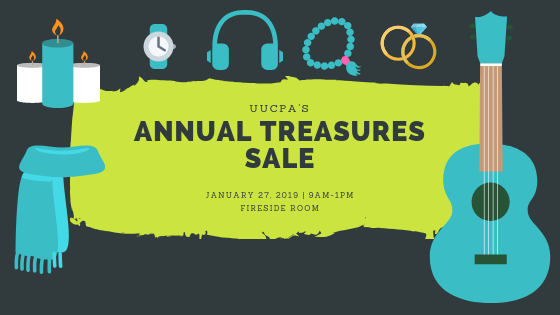 Treasures Benefit Sale