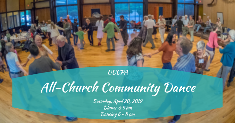 Save the date for the Community Dance: April 20th