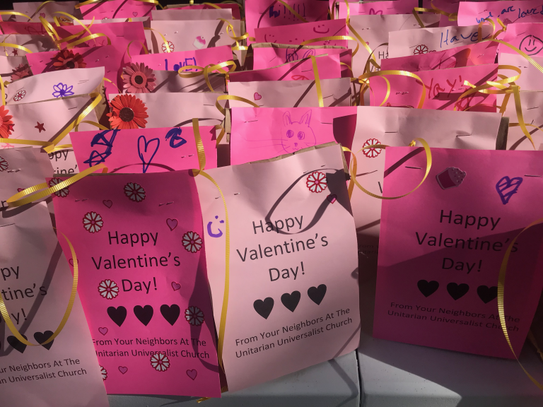 Valentine Bags for Stevenson House
