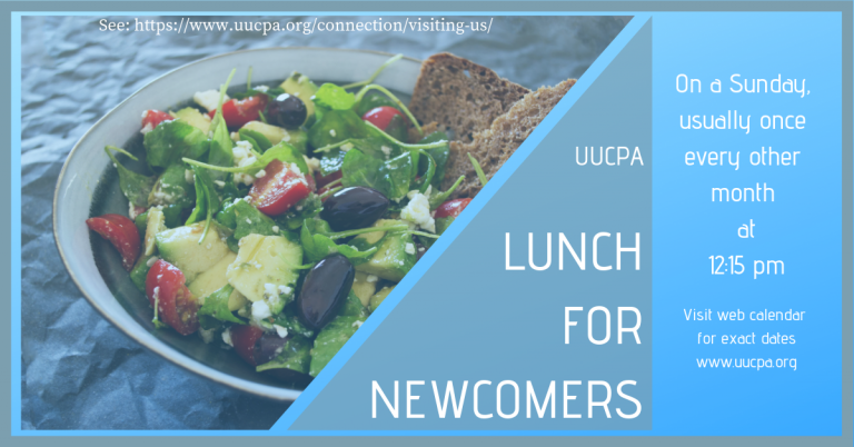 November 17 Lunch • All Newcomers Invited!