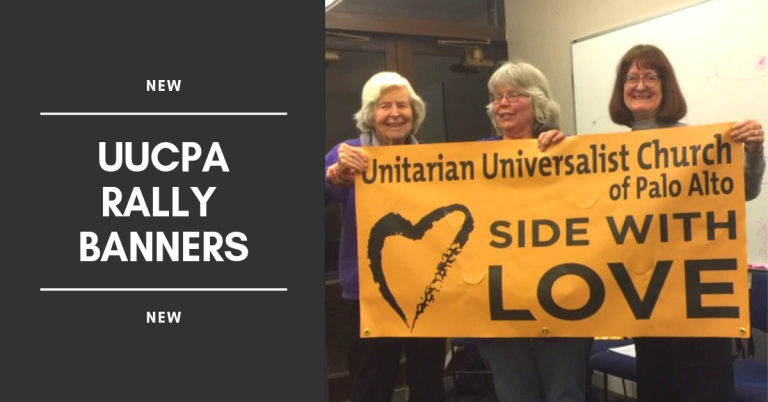 UUCPA Banner Approved for Use in Pride Parades