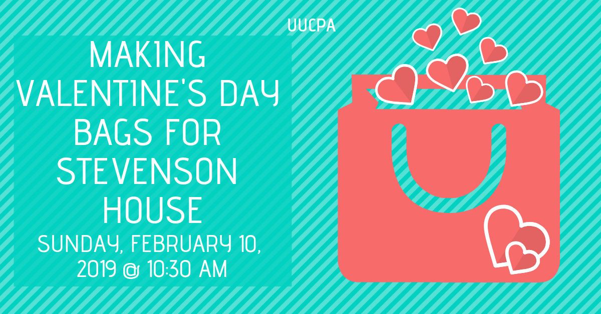 Valentine's Day Bags for Stevenson House