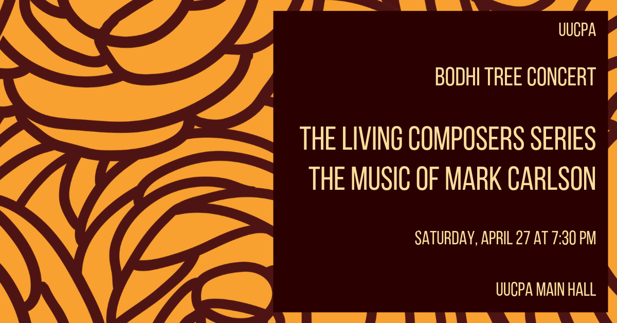 Bodhi Tree Concert - The Music of Mark Carlson