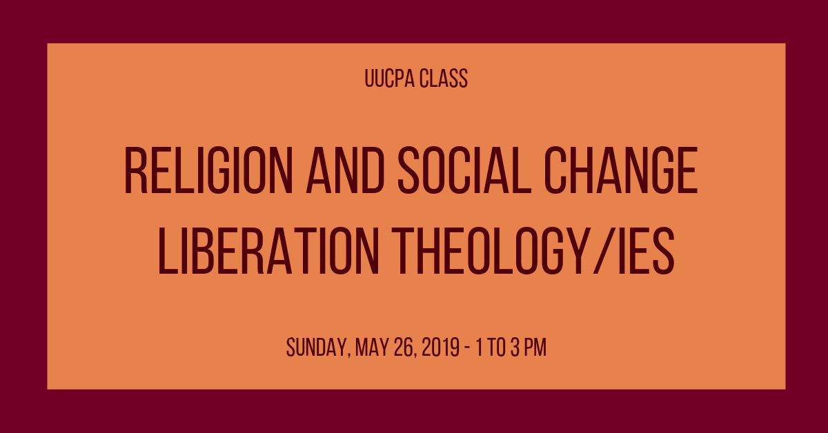 Religion and Social Change: Liberation Theology/ies