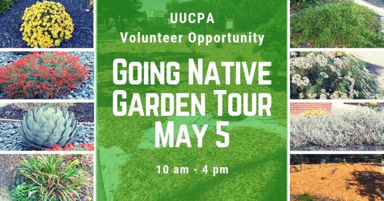 Our UU Native Garden Is On California Native Plant Society Garden Tour