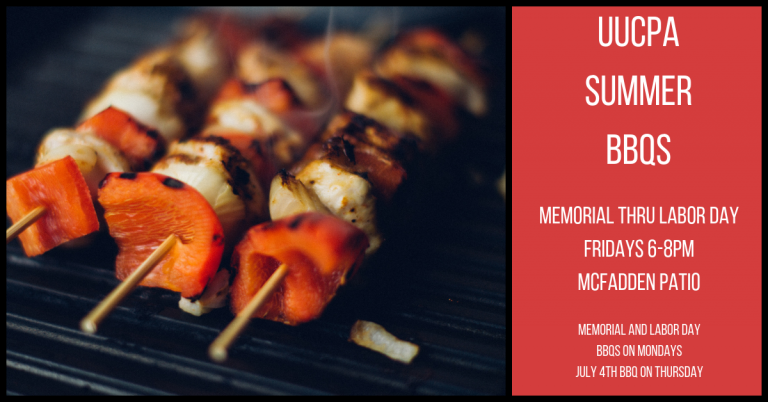 Summer BBQ's - Fridays, Memorial Day through Labor Day