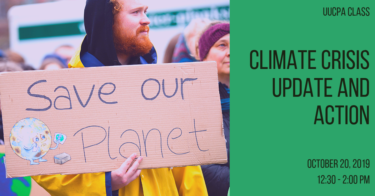 Climate Crisis Update and Action