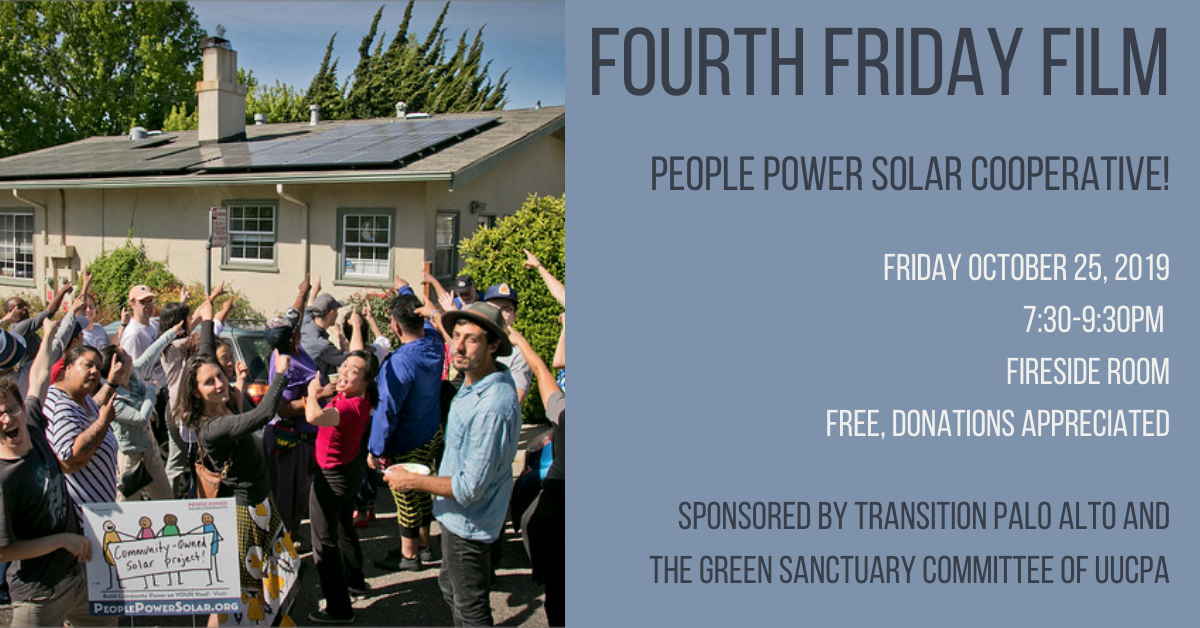 Green Sanctuary Fourth Friday Film • People Power Solar Cooperative!