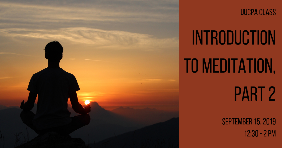 Introduction to Meditation, Part 2