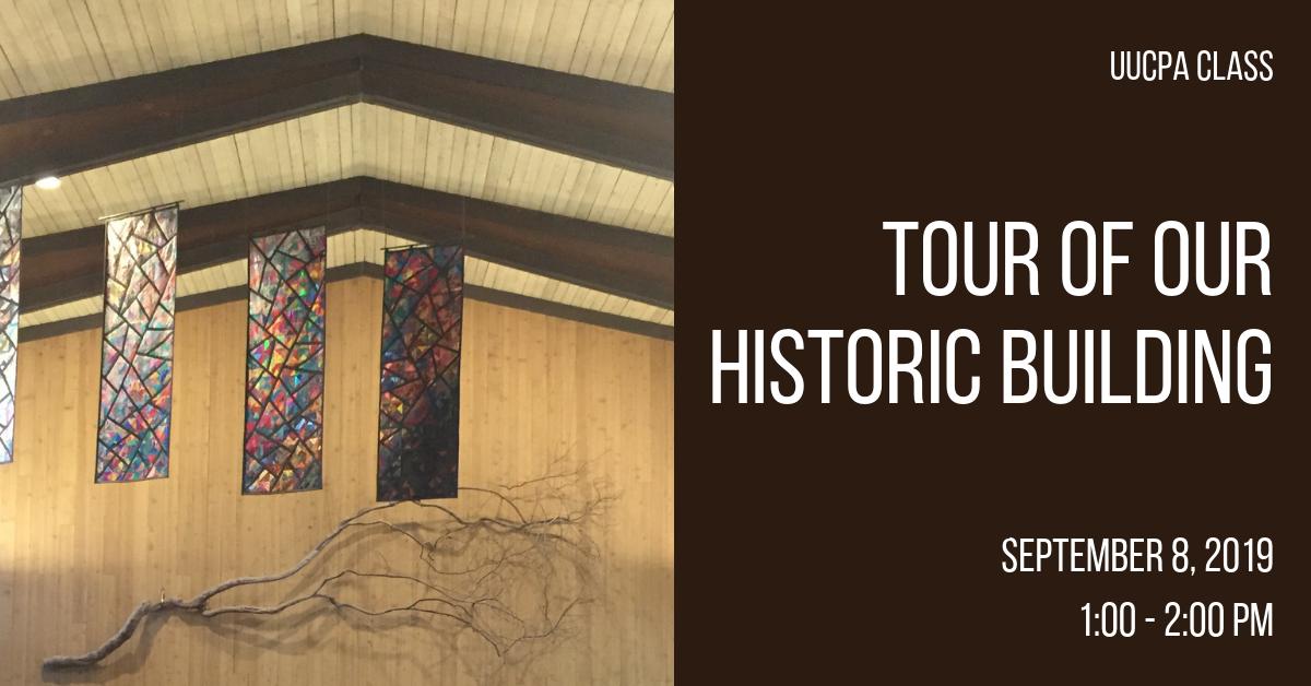 Tour of Our Historic Building