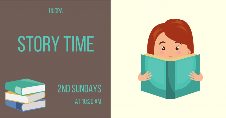 Story Time - Second Sundays Between Services