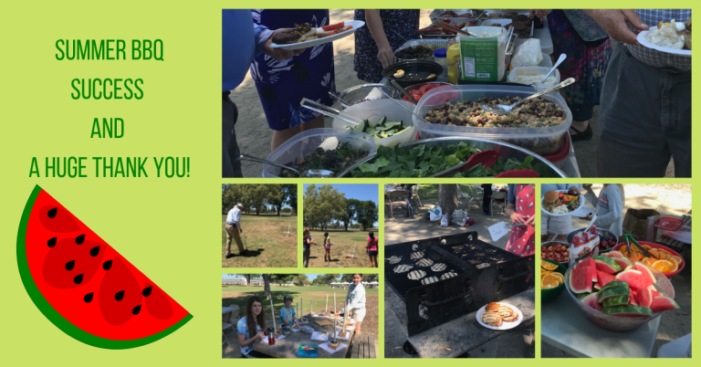 Summer BBQ Success and a Huge THANK YOU!