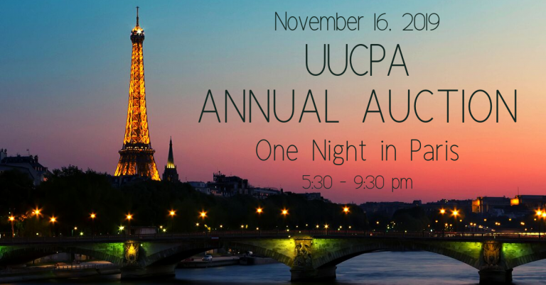 UUCPA 2019 Auction