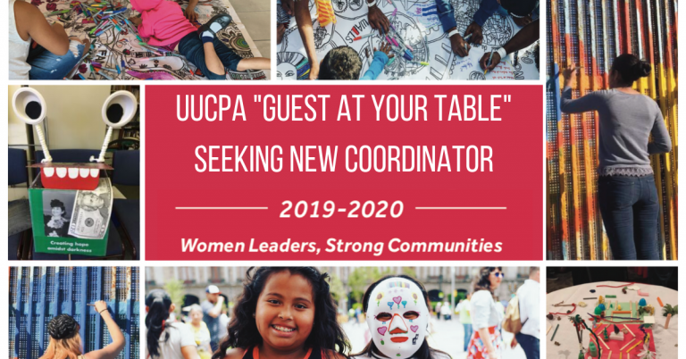 Seeking New Guest At Your Table Coordinator