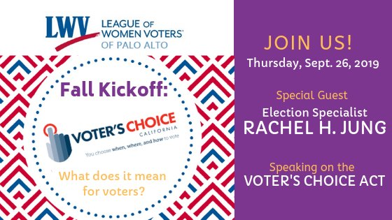 "LWV ""Easy Voting"" Event (UUCPA Co-Sponsor)"