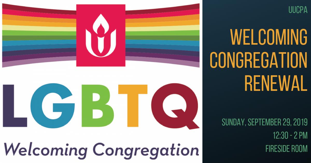 Welcoming Congregation Renewal