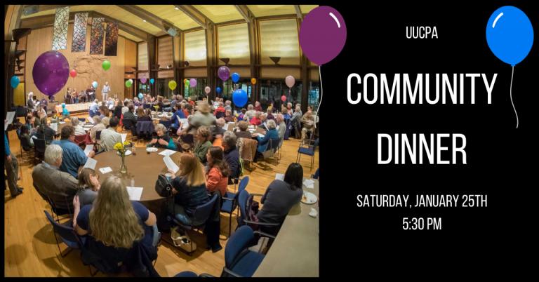 Jan. 25, 2020 - UUCPA Community Dinner