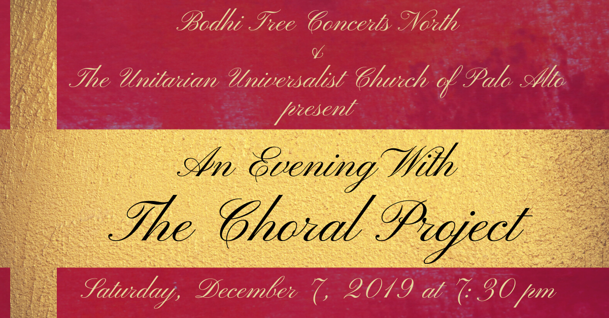 Bodhi Tree Concert - An Evening with The Choral Project