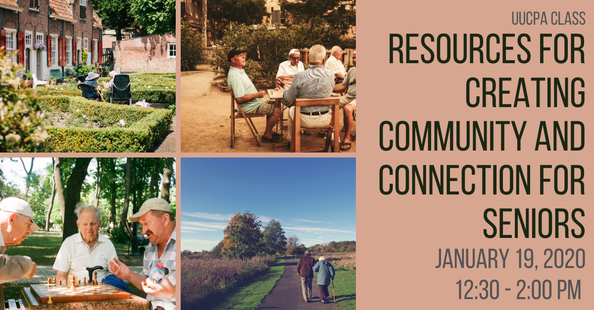 Resources for Creating Community and Connection for Seniors