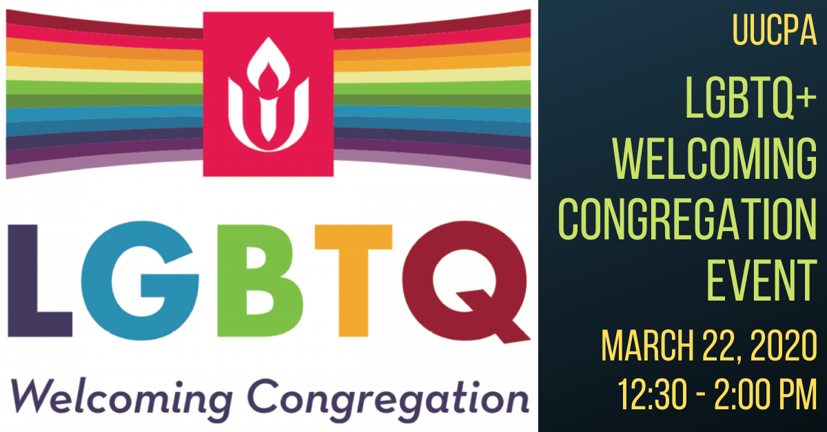 LGBTQ+ Welcoming Congregation Event