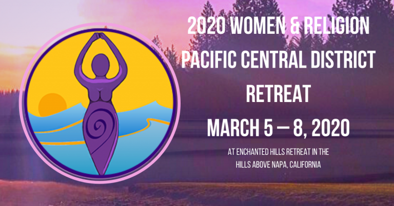 PCD Women's Retreat, March 5-8, 2020