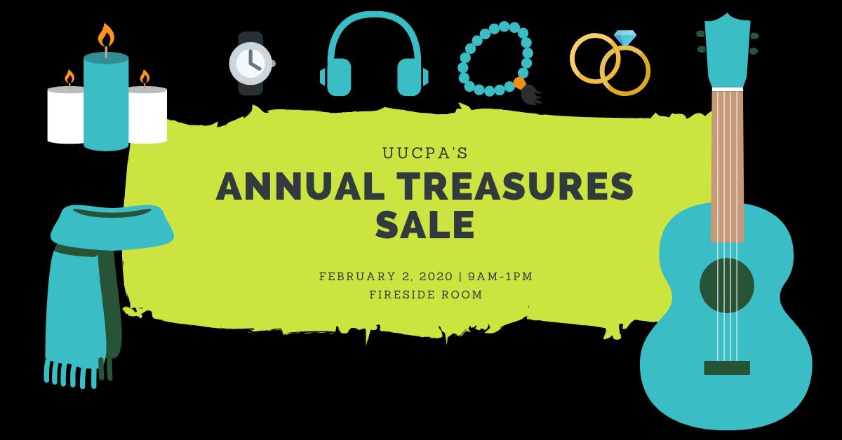 Treasures Benefit Sale