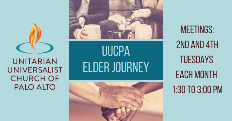 Elder Journey - Join us twice a month for a lively, informal discussion