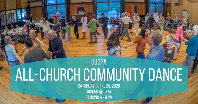 Save the date for the Community Dance: April 25, 2020
