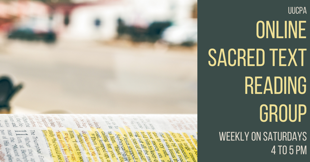 Sacred Text Reading Group