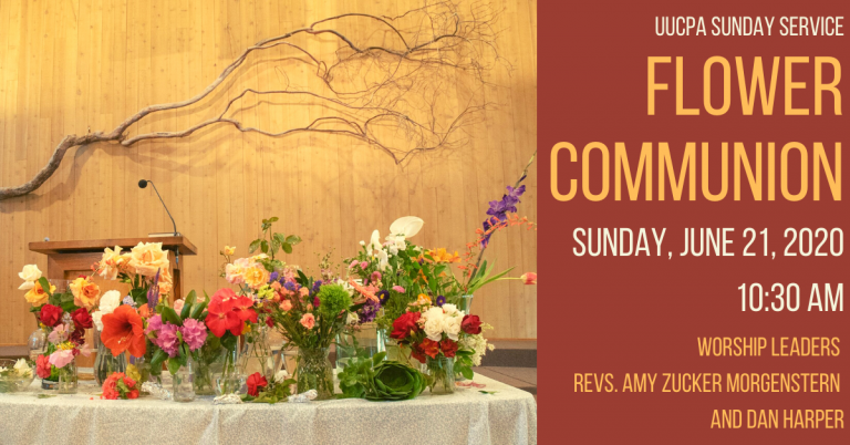 Coming up: June 21, 2020 is Flower Communion!
