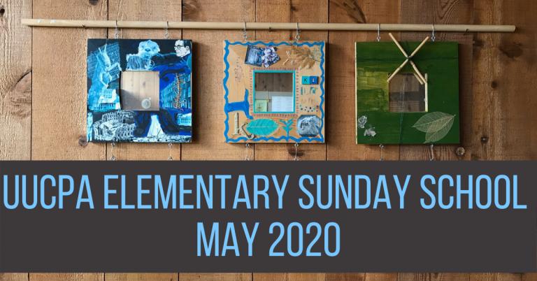 Elementary Sunday school in May 2020