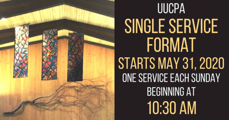 Sunday Service Schedule Change from Dual to Single on May 31, 2020