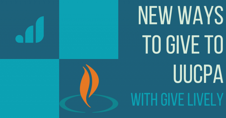 Give to UUCPA with Givelively