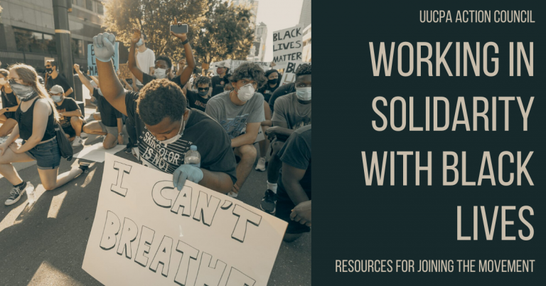 Working in Solidarity with Black Lives