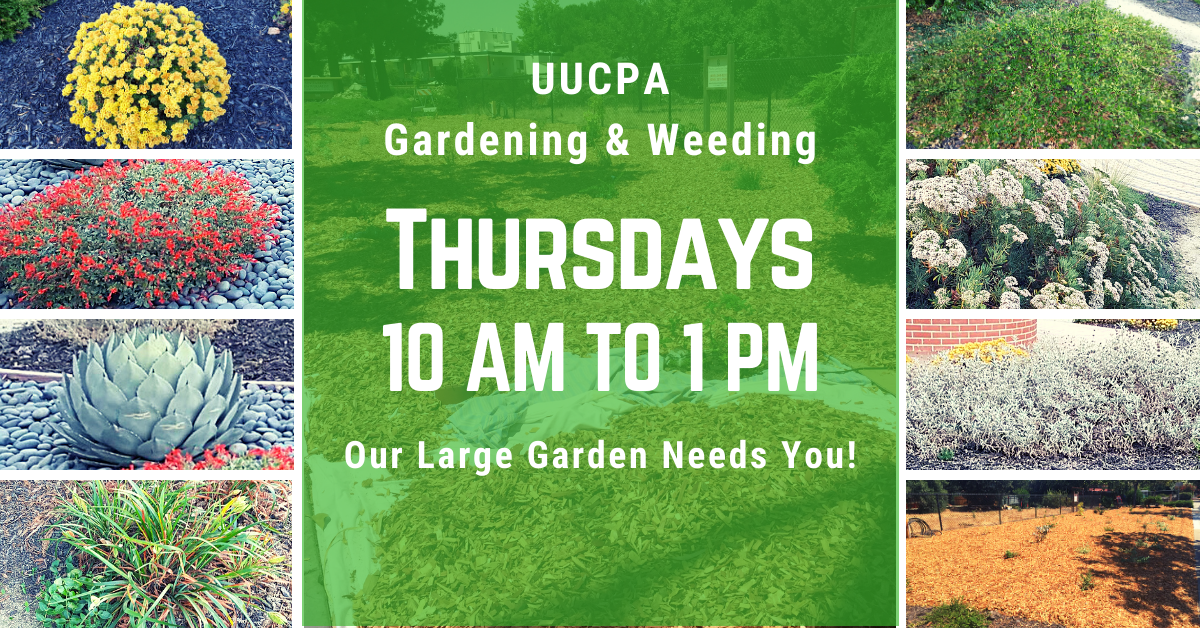 Gardening @ UUCPA