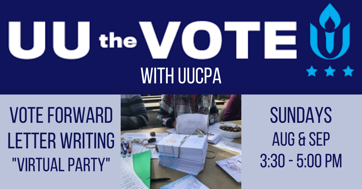 Virtual Get-Out-the-Vote (Vote Forward) Letter Writing Party