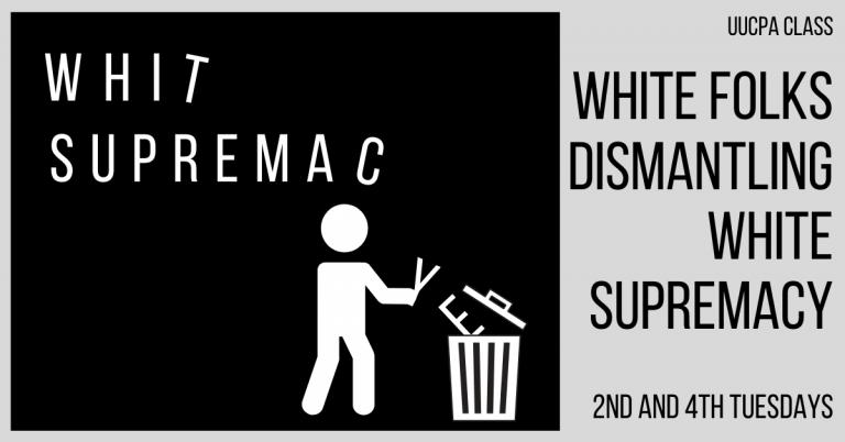 White Folks Dismantling White Supremacy - Sept 22 @ 7:15 pm