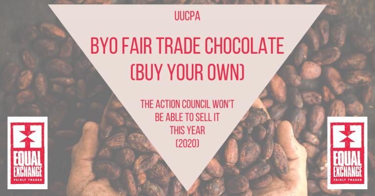 Fair-Trade Chocolate is BYO