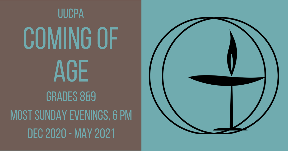Coming of Age Meeting
