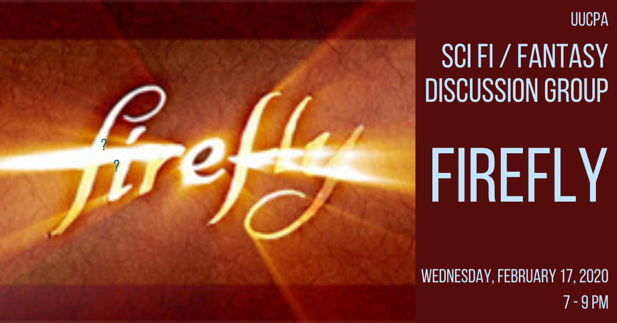Sci-Fi and Fantasy Discussion Group: Firefly