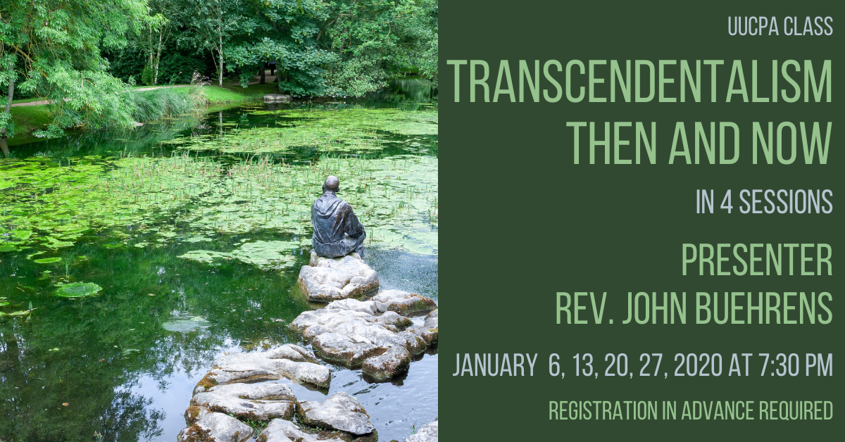 Transcendentalism Then and Now