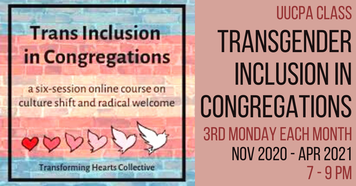 Transgender Inclusion in Congregations