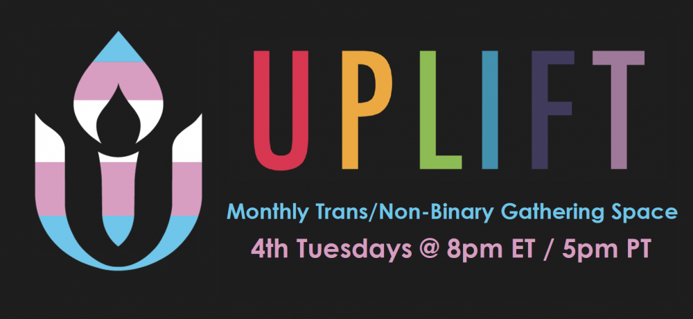 UPLIFT Trans/Non-Binary Gathering Space